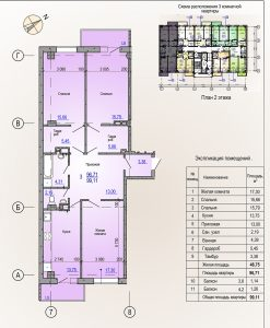 Компания «Жилстрой-2» объявляет о начале акции на 3-комнатные квартиры в ЖК Меридиан
